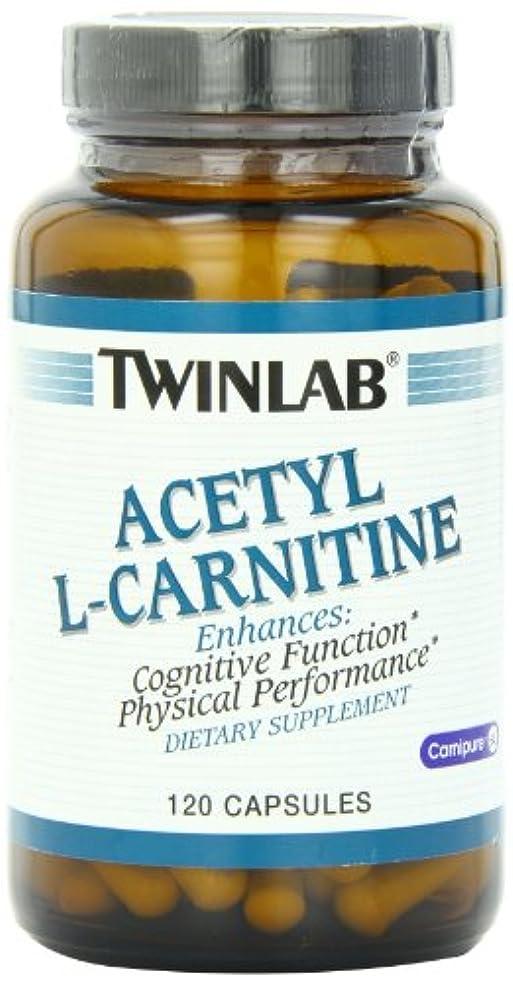 グレー団結するエミュレートするTwinlab - アセチル L-カルニチン 500 mg であります。120カプセル