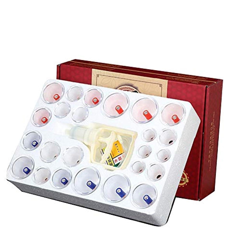 削る消毒するアクセント12カップカッピングセラピーセット、真空吸引生体磁気中国式ツボ療法、ポンプ付きホーム、全身チクチクする疲労、リリーフネックバックペインストレス