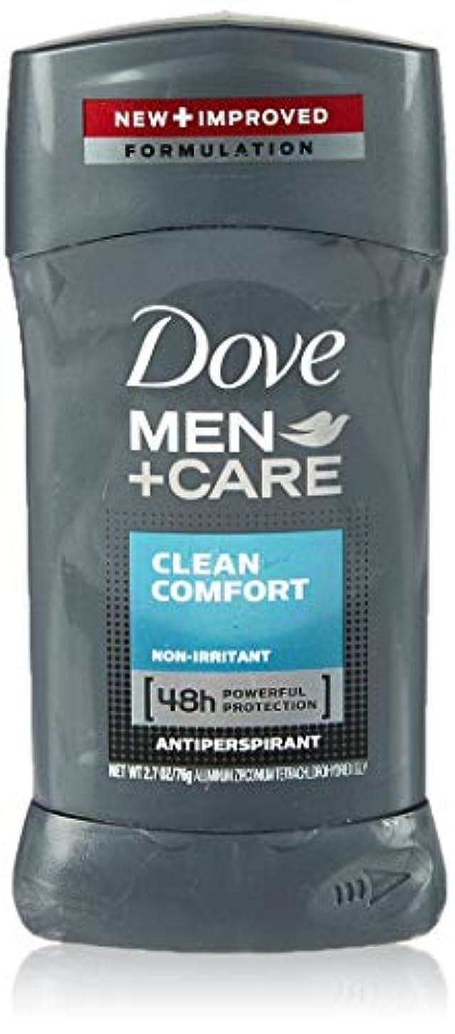 複雑でない補助洗剤Dove Men +Care Invisible Solid Deodorant, Clean Comfort (並行輸入品)