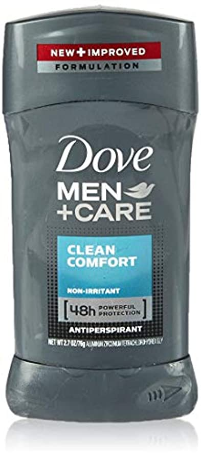 告発愛されし者航空便Dove Men +Care Invisible Solid Deodorant, Clean Comfort (並行輸入品)