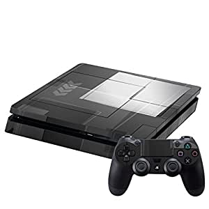 SONY 新型PS4 スリム 薄型 プレイステーション専用 スキンシール 裏表 全面セット カバー ケース 保護 フィルム ステッカー デコ アクセサリー その他 モノクロ タイル 市松模様 000306 [PlayStation 4] [PlayStation 4] [PlayStation 4] [PlayStation 4] [PlayStation 4] [PlayStation 4]