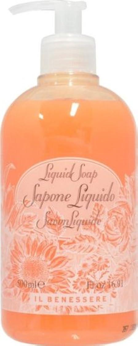 顕現祝福するドラッグRudy ルディ ILBENESSELE イルベネッセレ リキッドソープ オレンジフラワーズ