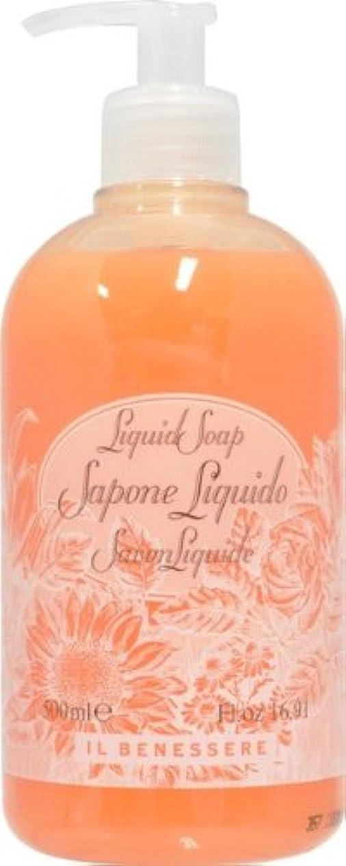温かい意志気づかないRudy ルディ ILBENESSELE イルベネッセレ リキッドソープ オレンジフラワーズ