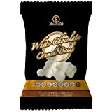 The Sugarless Company A White Chocolate Crunch Balls, 90 g