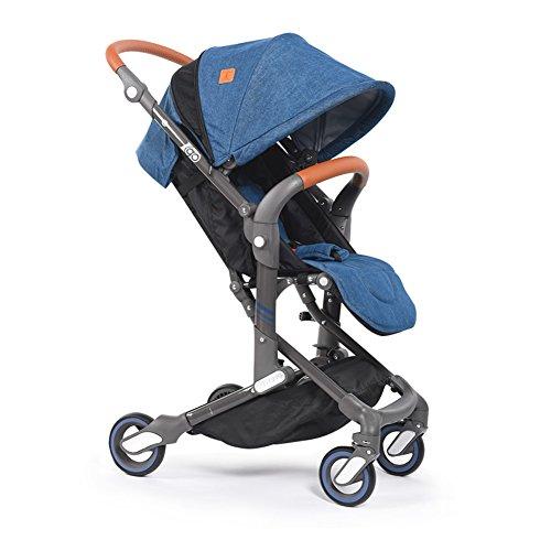 babysing I-GO 76cmハイライト軽量ポータブルデラックスコンパクトベビーカースーツ0-5歳幼児 (カウボーイ)