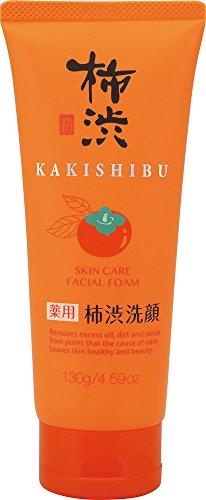 熊野油脂 薬用 柿渋洗顔フォーム 130g