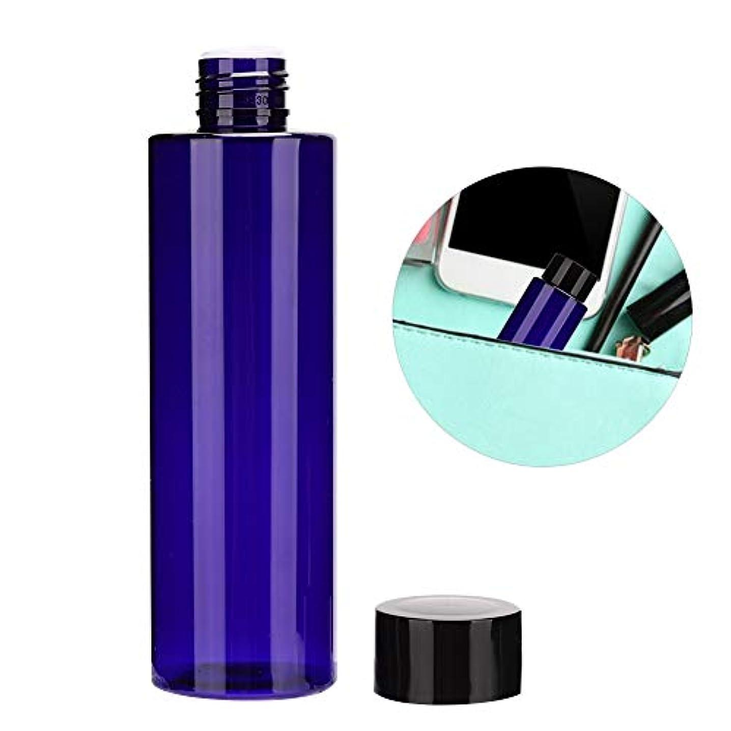 半島カラス黙認する200ML PET 詰め替え 可能な空 液体ボトルローション スキンケア 製品 空の化粧品 トナーコンテナボトル