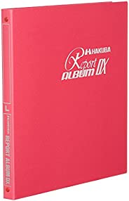 HAKUBA 520057 Report Album DX for Large Red