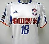 03-04アルビレックス新潟(A) #18 鈴木慎吾 半袖 オーセンティック L