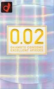 オカモト コンドームズ 0.02 ゼロゼロツー EX 6個入