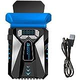 ミカソ(Mekarsoo) ME-5 ノートパソコン用冷却ファン 吸引式クーラー 静音タイプ CPUクーラー/ノートPCクーラー/USB冷却器/USB冷却ファン/ノート冷却ファン/USBクーラーファン(ブラック)