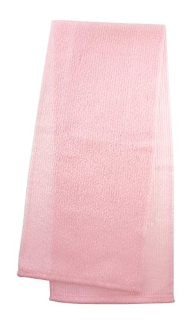 眉をひそめる作り上げるハシーマーナ ボディタオル 「とろり」 ピンク B576P