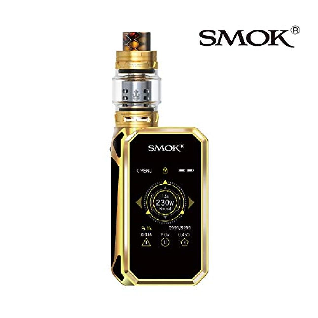 最初に効果競争力のある【正規品】Smok社最新の製品 Smok G-PRIV 2 Kit Luxe Edition 電子タバコ スモック 230W 豪華版 TFV12 アトマイザー タッチ スクリーン スターターキット (プリズムゴールド prism...