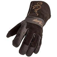 Black Stallion BSX LS50 Woman's AngelFire Premium Pigskin Welding Gloves - Medium [並行輸入品]