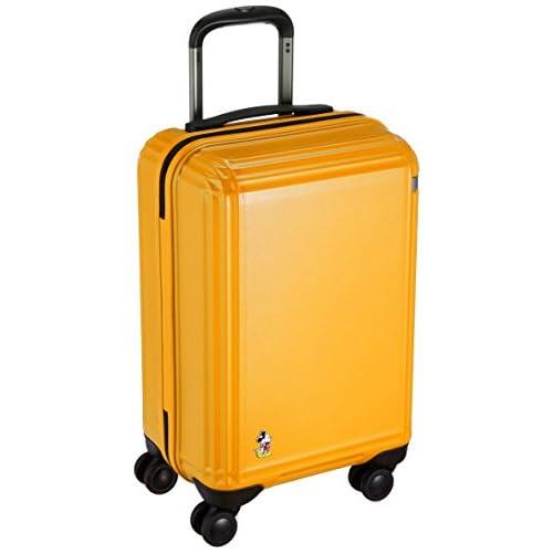 [エース] スーツケース スタンディングミッキー 47cm 32L 機内持込み 機内持込可  32.0L 47cm 3.3kg 06111 13 イエロー