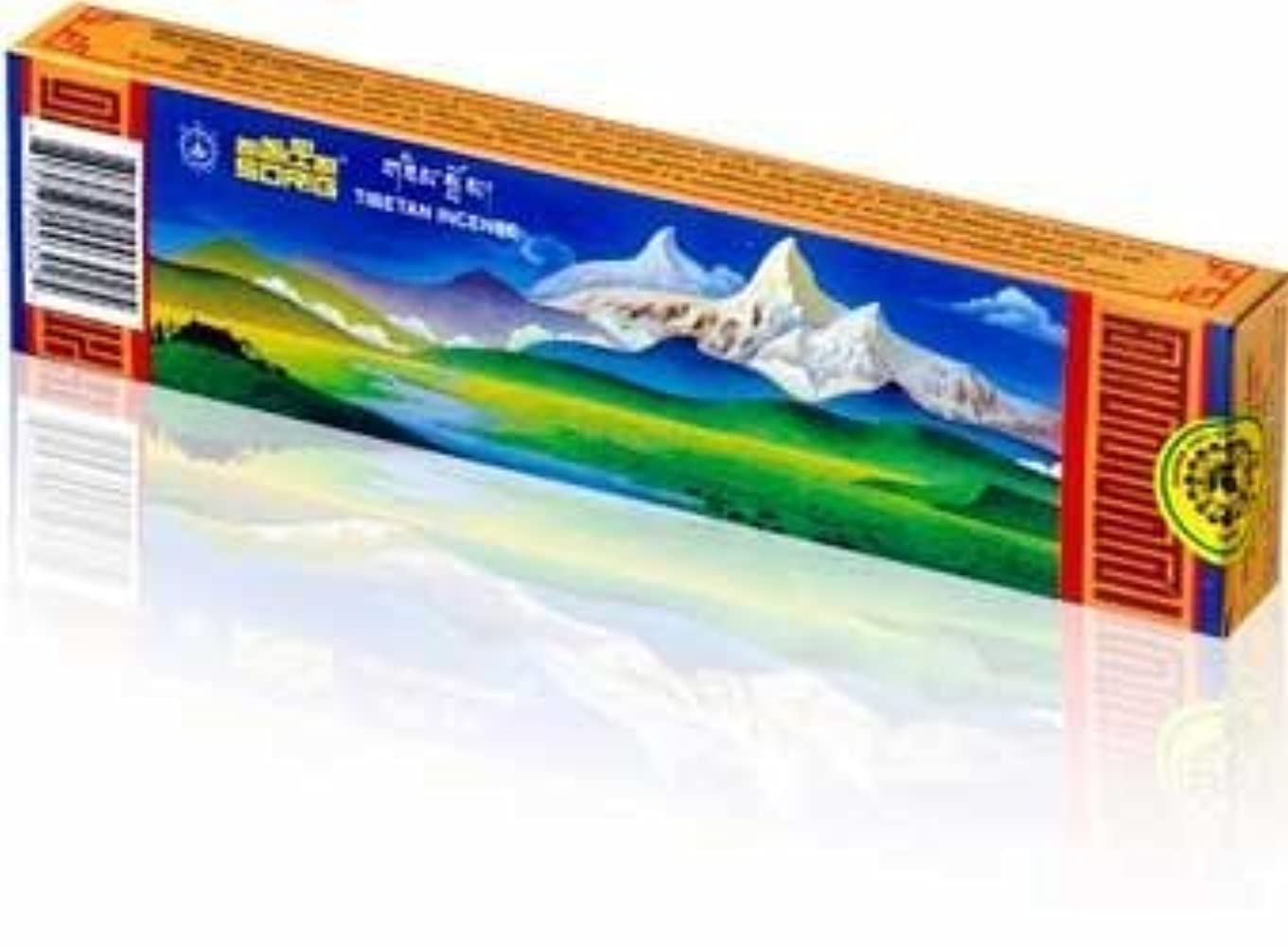 人工説教キッチンSorig Natural Handmade Tibetan Incense Sticks by Men-Tsee-Khang- 20/40/60 Count (40) by Men-Tsee-Khang [並行輸入品]