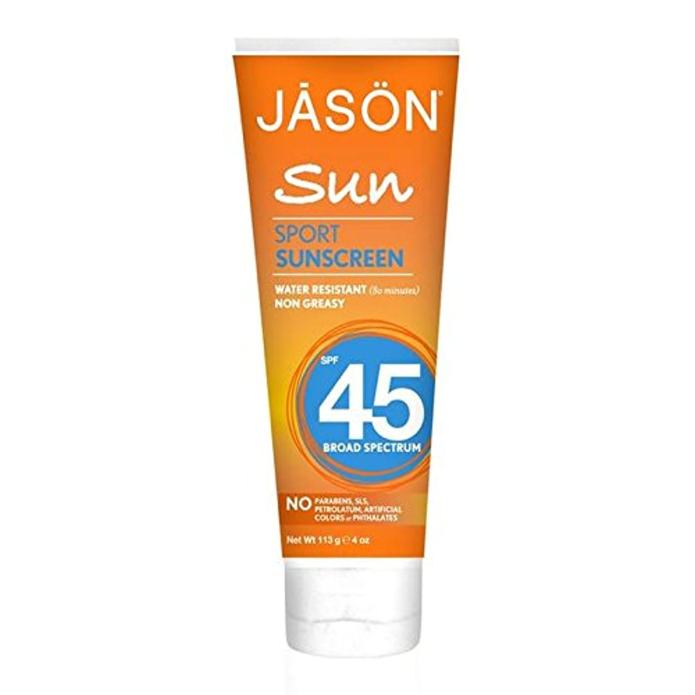 ぐるぐるキルス前者Jason Sport Sunblock SPF45 113g (Pack of 6) - ジェイソン?スポーツ日焼け止め45の113グラム x6 [並行輸入品]