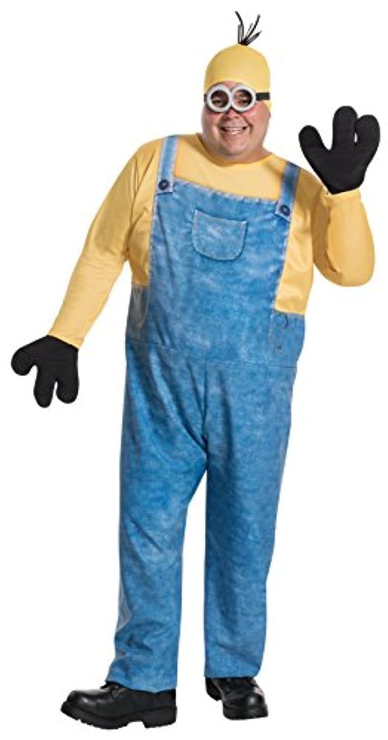多数の透けるチーズ映画 ミニオンズ ミニオン ケビン コスチューム 男性用 プラスサイズ 大きいサイズ ハロウィン コスプレ コスチューム 衣装