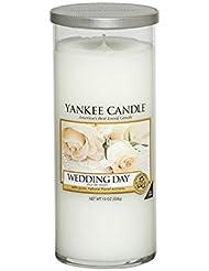 Yankee Candles Large Pillar Candle - Wedding Day (Pack of 6) - ヤンキーキャンドル大きな柱キャンドル - 結婚式の日 (x6) [並行輸入品]