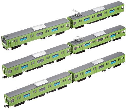 グリーンマックス Nゲージ JR201系体質改善車「おおさか東線全線開業PRラッピング」 6両編成セット 動力付き 50633 鉄道模型 電車