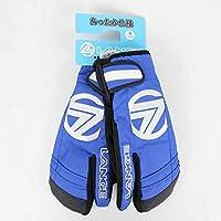 LANGE(ラング) MIT BLUE LLEJG04 ウィンターグローブ 手袋 スキー 3本指 ロブスター (S)