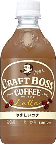 サントリー コーヒー クラフトボス ラテ 500mlペット×3本