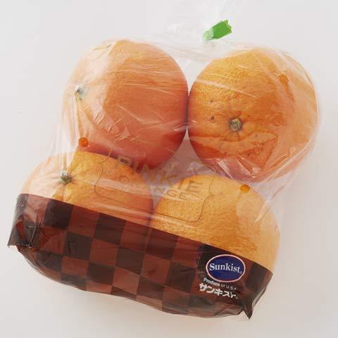 サンキスト ピンキー(カラカラ)オレンジ 4P 5個