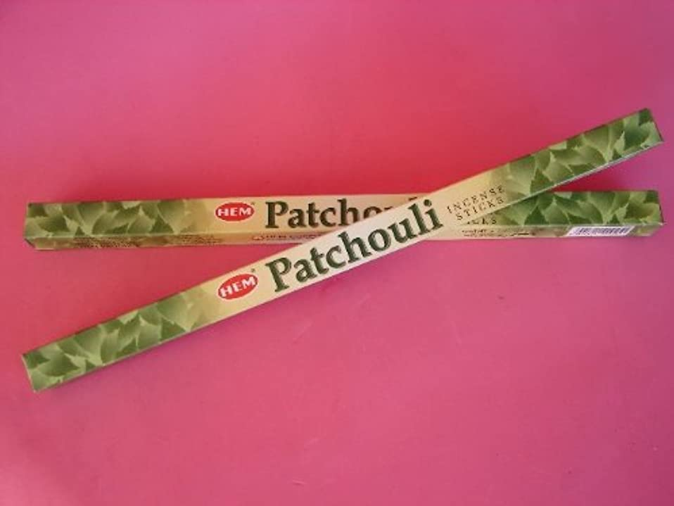 暗くする銀行撤回する4 Boxes of Patchouli Incense Sticks