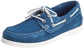 Suede Boat Shoe 1431-343-4208: Cobalt