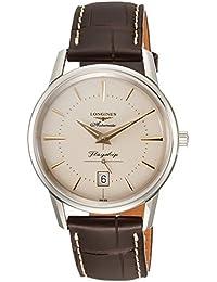 [ロンジン]LONGINES 腕時計 フラッグシップ ヘリテージ 自動巻き L4.795.4.78.2 メンズ 【正規輸入品】