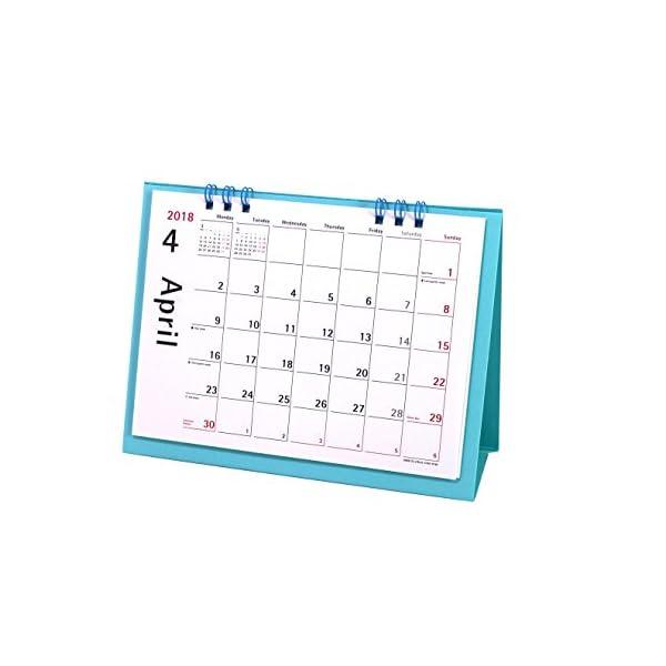 オーブ 2018年 カレンダー 4月始まり 卓上...の商品画像