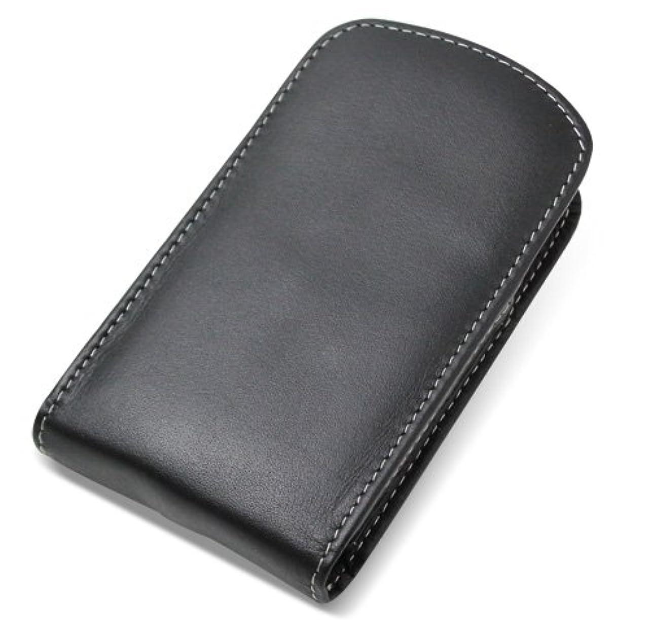 つかまえる副産物征服者PDAIR レザーケース for G'zOne TYPE-L CAL21 バーティカルポーチタイプ(ブラック) PALCCAL21V/BL