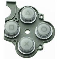 PSP-2000 ○△□×ボタン クライシスコア限定シルバー 純正同等品(PSP-3000にも使えます)