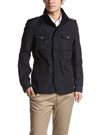 Memory Polyester M65 Jacket 3125-186-0245: Navy