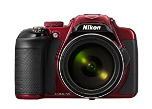 Nikon デジタルカメラ P600 光学60倍 1600万画素 レッド P600RD