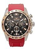 [テクノス] 腕時計 T8B02PB メンズ レッド