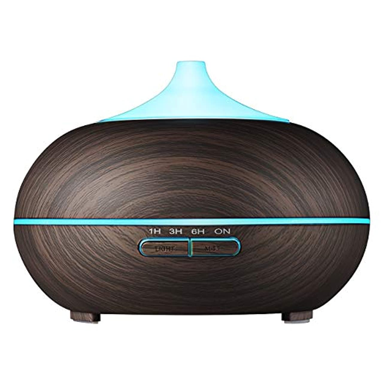 先メリーかもしれないVicTsing 300 ml Aromatherapy Essential Oil Diffuser、超音波クールなミスト加湿器with 14 – カラーLEDライト、木目デザイン