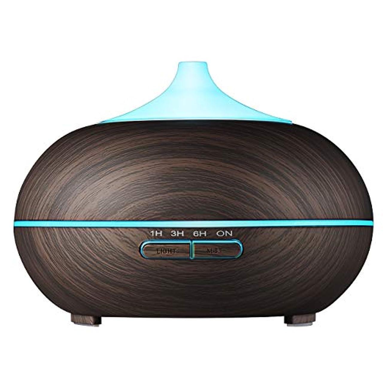 戻る立証するペストVicTsing 300 ml Aromatherapy Essential Oil Diffuser、超音波クールなミスト加湿器with 14 – カラーLEDライト、木目デザイン