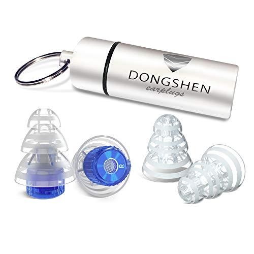 DONGSHEN 耳栓 携帯ケース付き ERSHUAN-02