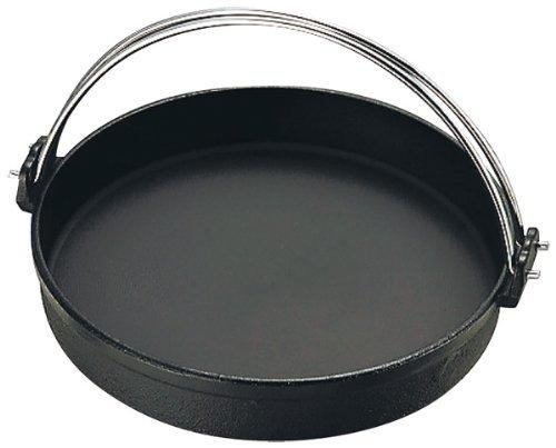 中部 トキワ 鉄すきやき鍋 黒ツル付 30? FC150 日本 QSK35030