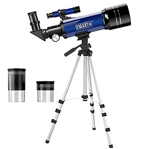 QMU 天体望遠鏡 子供 初学者向け 屈折式 B07RWY1HX7 1枚目