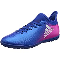 adidas Performance Boys Kids X 16.3 TF J Football Astro Turf Shoes Boots - Blue