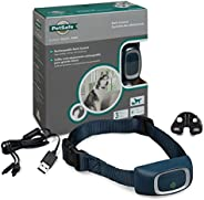PetSafe Rechargeable Bark Collar, 15 Levels of Automatically Adjusting Static Stimulation, Rechargeable, Water