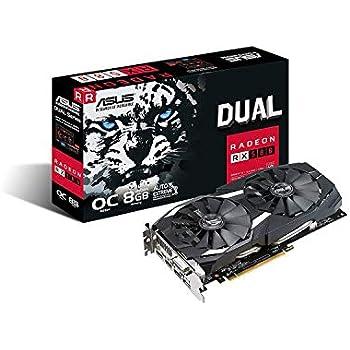 ASUS  AMD RX580搭載ビデオカード  DUAL-RX580-O8G