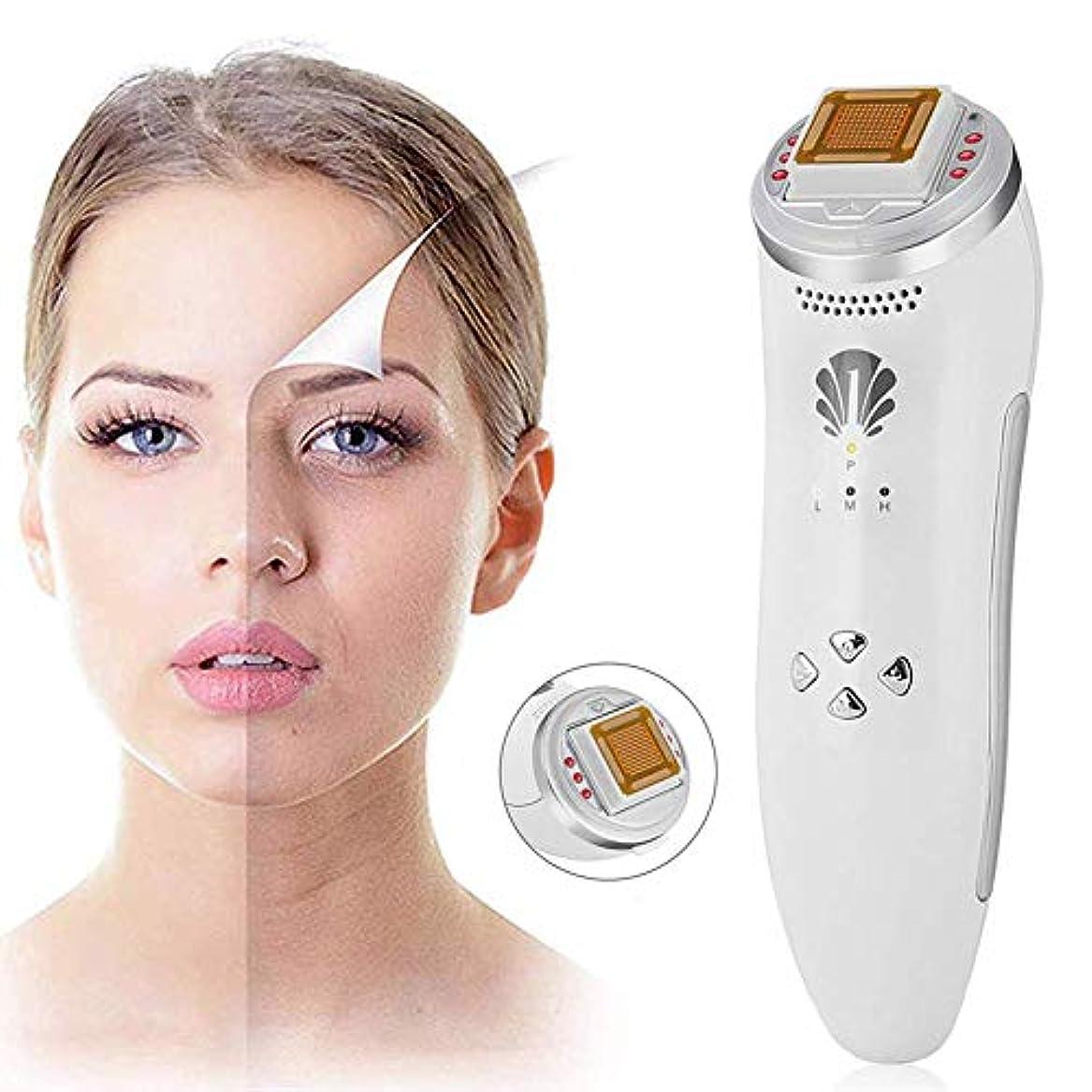 化粧社会科従事するしわのためのフェイスリフト装置の皮のきつく締まる機械は顔のマッサージャー多機能のスキンケアの美の器械を取除きます