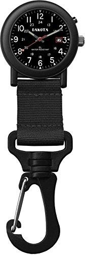 [해외]Dakota 다코타 Backpacker Watch 배낭 시계 블랙 2876-7 [병행 수입품]/Dakota Dakota Backpacker Watch Backpacker Watch Black 2876-7 [Parallel import goods]