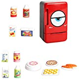 MagiDeal Simulation Electric Refrigerator Home Appliances Toys - Baby Kids Pretend Play Kitchen Cooking Food Toy Developmental Game