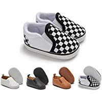 Baby Boys Girls Shoes Newborn Infant Toddle Slip-on Sneaker Soft Sole First Walkers Flat Boat Shoes