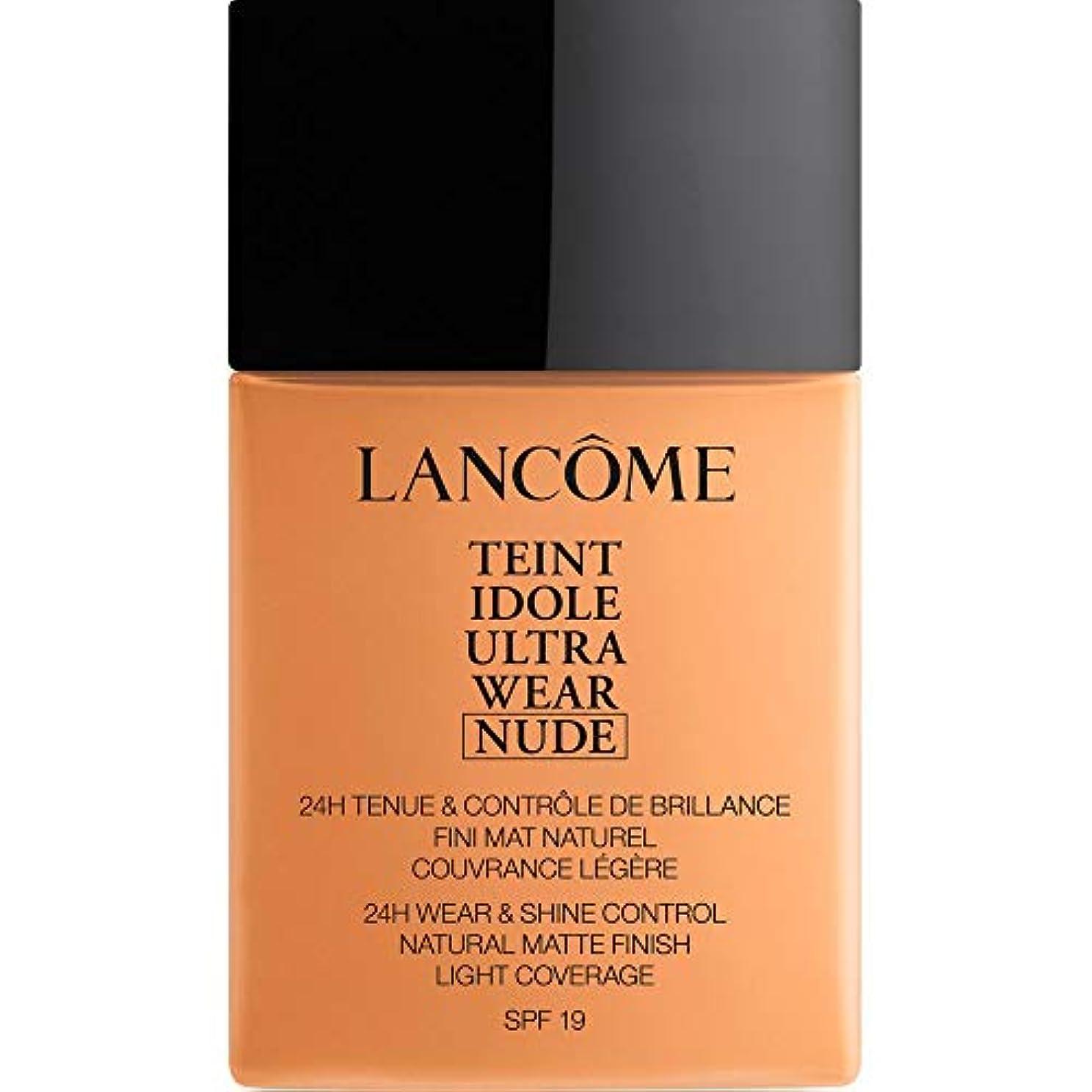 帝国せっかち強います[Lanc?me ] ランコムTeintのIdole超摩耗ヌード財団Spf19の40ミリリットル050 - ベージュアンブレ - Lancome Teint Idole Ultra Wear Nude Foundation...