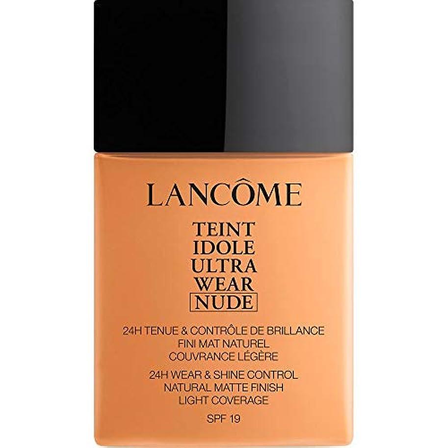 思いつく不正確ほこりっぽい[Lanc?me ] ランコムTeintのIdole超摩耗ヌード財団Spf19の40ミリリットル050 - ベージュアンブレ - Lancome Teint Idole Ultra Wear Nude Foundation...